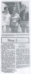 Bowdon Bulletin, July 1976